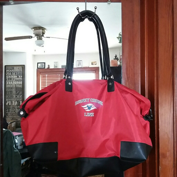 Disney Bags Cruise Line Duffle Carryon Luggage Bag